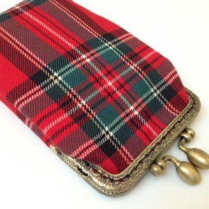 Smartphone Etui Schottland Karo