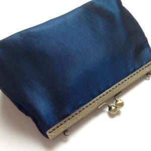 Handtasche Clutch Shabby blau
