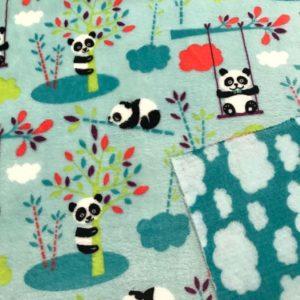 Fleece Plüsch Panda