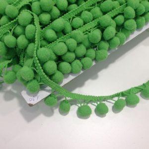 Bommelborte grün