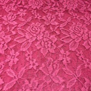 Spitze Blume pink fuchsia