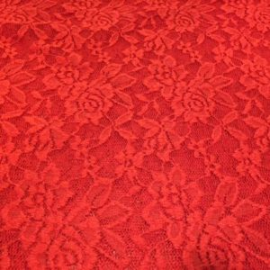 Spitze Blume rot