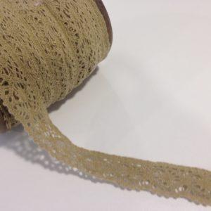 Spitze Spitzenband beige sand