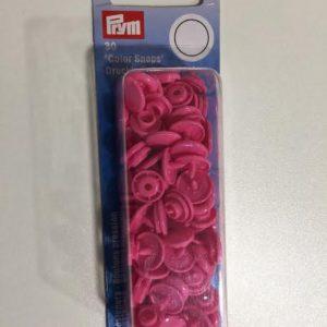 Prym color snaps pink