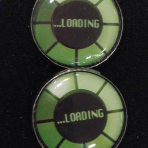 Manschettenknöpfe loading schwarz grün