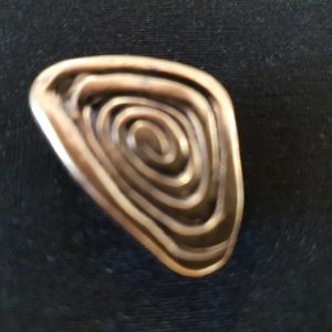 Magnet Brosche Kupfer