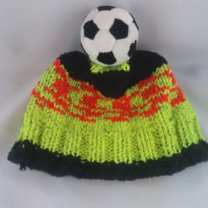 Kindermütze Fussball