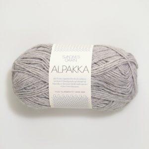 Alpaka-Schurwolle Norwegermuster