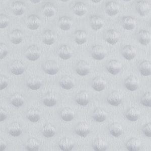 Minky 3D silber grau