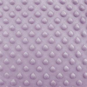 Minky 3D zartlila lila