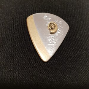 Magnet Brosche Silber