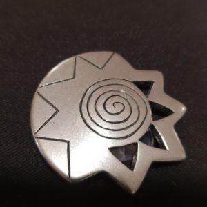 Magnet Brosche Silber Stern