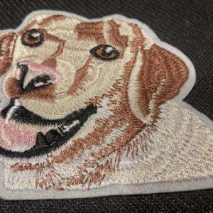 Aufnäher Patch Hund