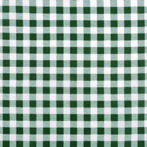 Karo grün Stoff Baumwolle