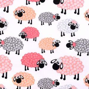 Baumwolle Schaf rot