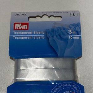 Gummiband transparent elastic