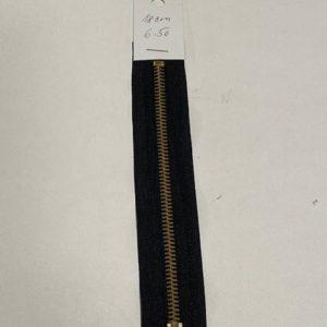 Reissverschluss 18cm schwarz