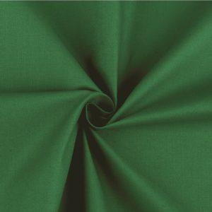 stoff baumwolle grün waldgrün uni
