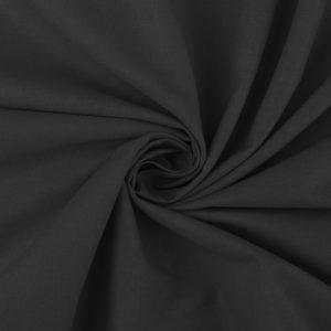 stoff baumwolle uni schwarz