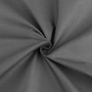 baumwolle stoff grau anthrazit uni