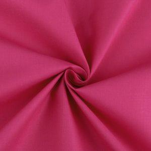 Stoff Baumwolle Uni Pink