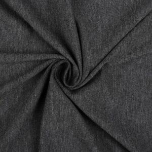 Jersey uni dunkelgrau meliert