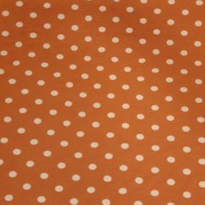 Viskose Jersey dots orange