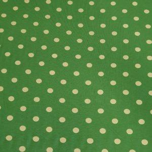 Viskose Jersey dots grün