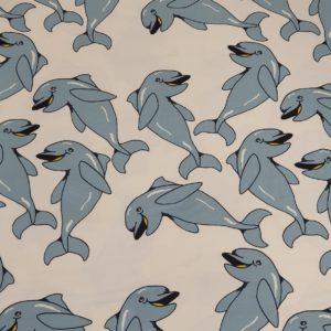 Jersey Delfin Delphin weiss blau