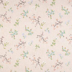 Baumwolle-Canvas-Blumen-Shabby-Chic