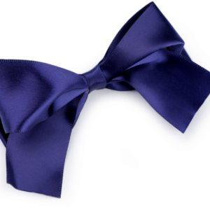 Haarspange blau Schleife
