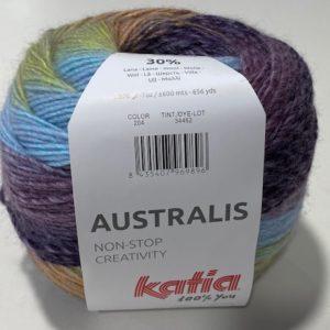 Mischgarn Katia Australis Farbverlauf