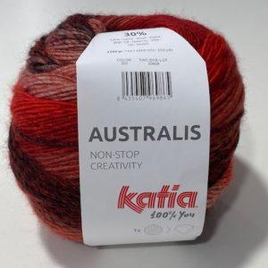 Katia Farbverlauf Schal Mütze