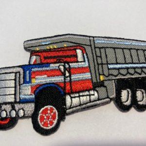 Aufnäher-Patch-Lastwagen