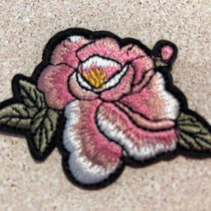 Aufnäher-Patch-Rose