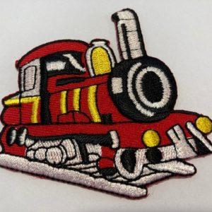 Aufnäher-Patch-Lokomotive
