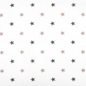 Baumwollflanell Flanell Sterne