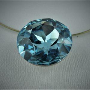 Halskette Swarovski blau