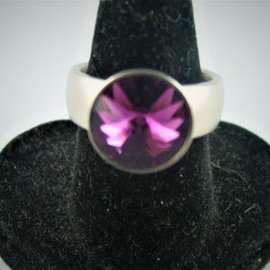 Swarovski Ring violett