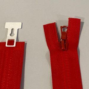 Reissverschluss rot 60cm