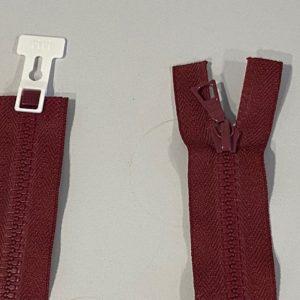 Reissverschluss bordeaux rot 60cm