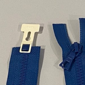 Reissverschluss blau 60cm