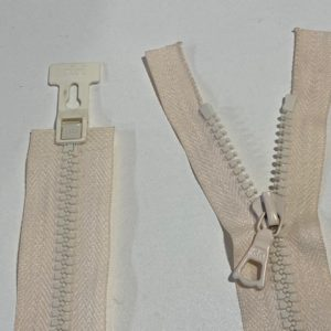 Reissverschluss beige 75cm
