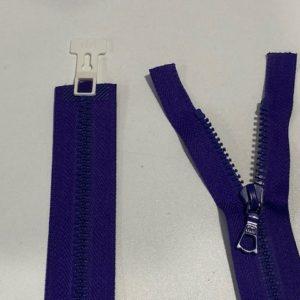 Reissverschluss violett 75cm