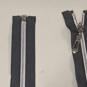 Reissverschluss grau 75cm