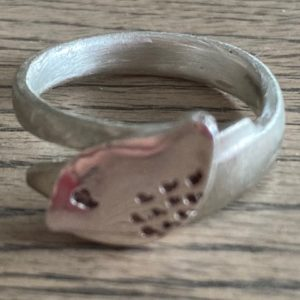 Silberring Ring Silber 925 Vogel