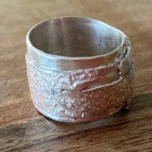 Silber Silberring 925 Unikat