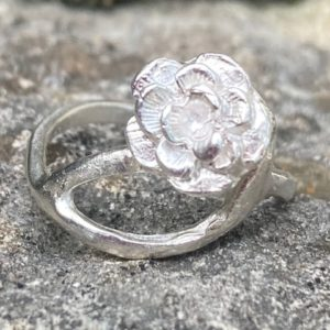 Silberring Silber 925 Rose