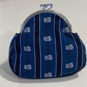 Clutch Edelweiss dunkelblau