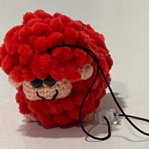 Schaf Taschenbaumler rot Geschenk